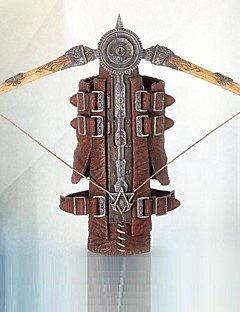Weapon Inspired by Cosplay Cosplay Anime/ Video Games Cosplay Accessories Weapon Brown Alloy / Leather Male