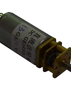 30rpm 13ga 12v 3mm aksel mini dc gearet gearkasse motor for intelligent bil