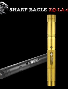 SHARP EAGLE/ZQ-LA-09 Green Laser Pointer(5mw.532nm.1x18650.Black、Golden)