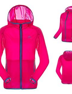 Jaqueta para Ciclismo Mulheres Manga Comprida Moto Impermeável / Respirável / Secagem Rápida / Resistente Raios UltravioletaJaqueta