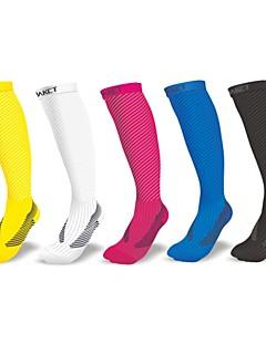 Dámské/Pánské/Unisex - Outdoor a turistika/Dostihy/Cyklistika - Ponožky (Žlutá/Bílá/Černá/Modrá)