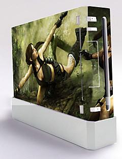 Wii Console Protective Sticker Cover Skin Controller Skin Sticker