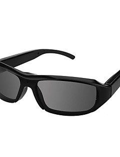 New Design HD1080 Sunglasses Camera Manual Video Recorder Sunglass Hidden Camera black