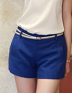 Dambyxor  (Linne) Shorts - Mellan - Icke-elastiskt