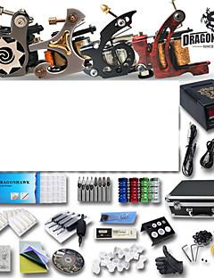 professionel tatovering kits 4 kanoner maskiner og strømforsyning