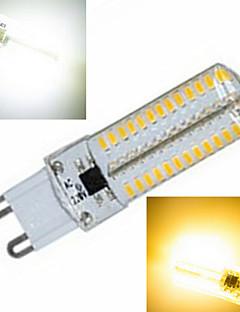 1 pcs G9 15W 104X SMD 5730 2800-3500/6000-6500LM 2800-3500/6000-6500K Warm White/Cool White Corn Bulbs AC 220V