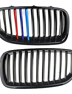 M-Color Shiny Black Grille Grill Kidney For BMW F10 F11 F18 5 Series 10-14