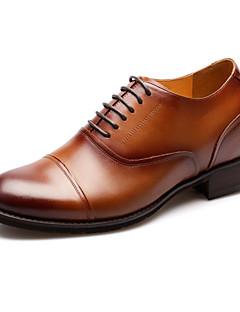 Chaussures Hommes Mariage/Bureau & Travail/Soirée & Evénement Poils Richelieu Marron