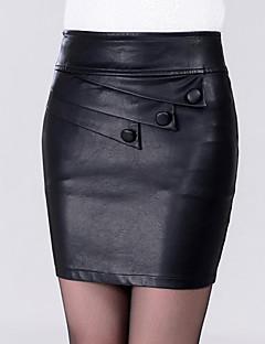 חצאיות מעל הברך אחיד צינור סקסית נשים