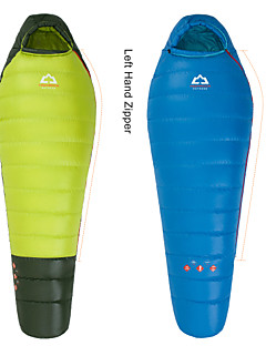 Sleeping Bag Mummy Bag Single -8°C~-3°C Duck Down 400g 203X80 Hiking / Camping / Beach / Fishing / Traveling / Outdoor / Indoor