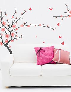 벽 스티커 벽 데칼, 번영 매화의 PVC 벽 스티커