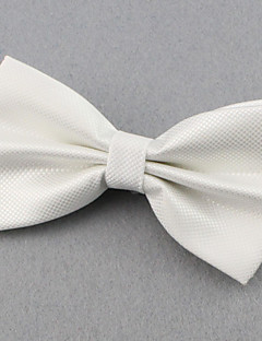 SKTEJOAN® Men's Fashionable Solid Groom Groomsman Bow Tie