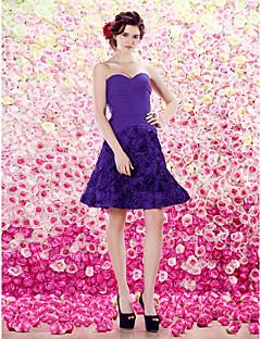 ts couture vestito da cocktail party - reggenza A-Line Sweetheart ginocchio in chiffon