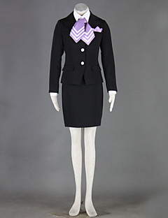 Cosplay All Saints Black Aviation Professional Uniforms