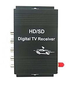 auto digitale tv ATSC-mh tuner ontvanger doos met 4 video-uitgang voor de verenigde staten met afstandsbediening controlblack