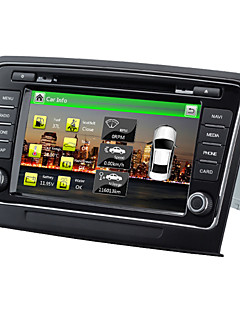 Wince 6.0 8Inch 2 Din Car Dvd Player For Superb With SWC IPAS OPS 1.2G CPU Gps Map HD 1080P RDS