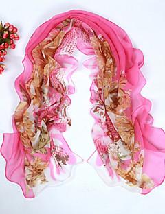 여성의 나비 모든 경기 달콤한 쉬폰 스카프 (모듬 된 색상)