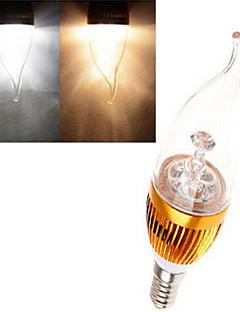 1 pcs  E14 12 W X High Power LED 380 LM 2800-3500/6000-6500 K Warm White/Cool White Candle Bulbs AC 85-265 V