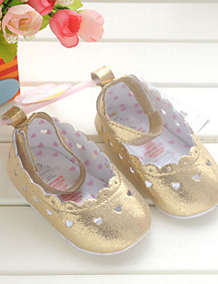 Baby Shoes Wedding/Dress/Casual Synthetic Flats Gold