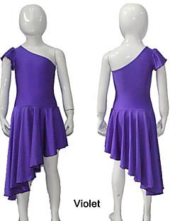 Balé Vestidos e Saias Mulheres / Crianças Actuação / Treino Nailon / Licra 1 Peça Vestidos As the Size Chart