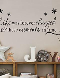 levende grine kærlighed familie wallstickers zy8175 dekorative adesivo de Parede aftagelig vinyl væg sticker