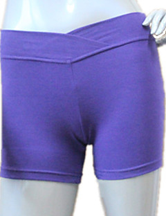 Balet Doły Damskie / Dla dzieci Wydajność / Trening Bawełna / Lycra 1 sztuka Krótkie spodnie As the Size Chart