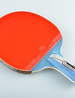 winmax® 1 Stück 5-Sterne-kurzen Griff Tischtennisschläger mit einer Farbe Verpackungskasten