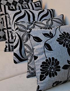 estilo retro caso jogar travesseiro fronha capa sofá almofada decoração de casa (18 * 18 polegadas)