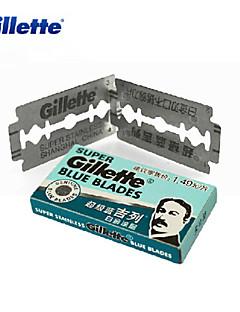 5 Super Blue Gillette Blades Double Edge Razor Blades