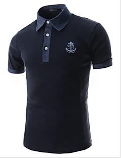 nono Men's Casual Short Sleeve Regular Polos
