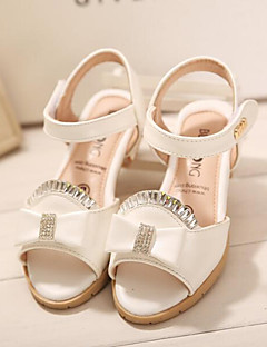 Girls' Shoes Wedding/Outdoor/Party & Evening/Dress/Casual Comfort/Open Toe Faux Leather Sandals Pink/Purple/White
