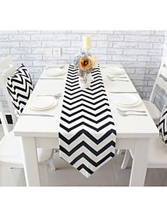 """style moderne de haute qualité vagues de la table d'impression de coton coureur (12 """"x63"""")"""