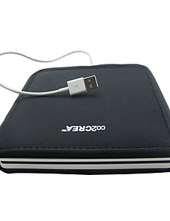 Soft Storage Sleeve Case for Apple MD564ZM/A USB 2.0 SuperDrive External CD DVD Blu-Ray Burner Drive