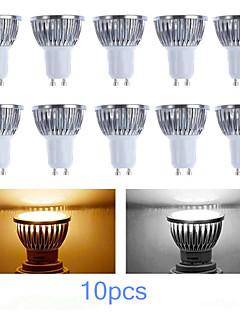 Spot LED Gradable Blanc Chaud / Blanc Froid MORSEN 10 pièces MR16 GU10 3W LED Haute Puissance 200-250 LM AC 100-240 / AC 110-130 V