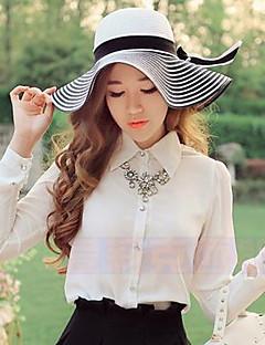 Для женщин Для женщин На каждый день Соломенная шляпа , Соломка , Лето