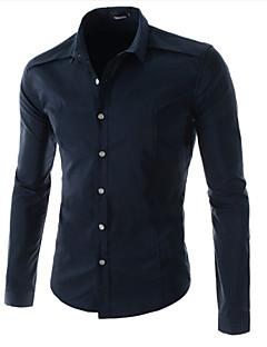 Langarm - MEN - Freizeithemden ( Baumwolle )