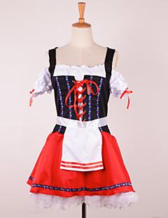 uniformer - Halloween/Karneval/Oktoberfest - Kostume - Kjole - til Kvinnelig