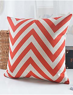 style moderne coton motif ondulé / linge taie d'oreiller décoratif