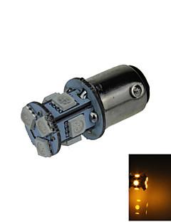 1X Yellow 1157 BAY15D 8 5050 SMD LED Brake Turn Signal Rear Light Bulb Lamp DC 12V E001