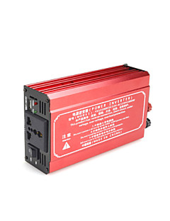 High Power 1000W 80A DC60V to AC 220V Car Power Inverter