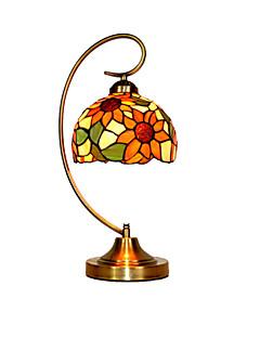티파니 - 데스크 램프 - 다양한 색조 - 메탈