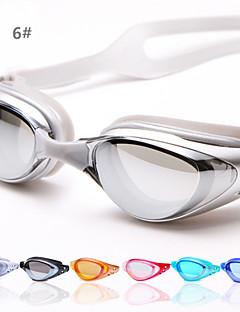 Antifog плавательные очки Жен. / Муж. / Универсальные Силикагель / УФ / Инженерная резина Поликарбонат / УФ / Акрил