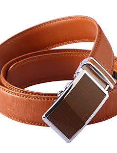 Unisex Calfskin Waist Belt,Vintage / Cute / Party / Work / Casual Alloy / Leather  PZD4061K01