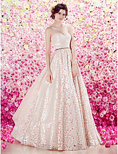 homecoming ts alta costura vestido de noche formal - Una línea de novia palabra de longitud tafetán