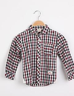 Polyester-Zomer / Lente-Boy's-Overhemd
