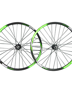 NEASTY Brand  29er 3k Green White Color Painted Wheelsets Full Carbon Fiber MTB Bicycle Wheelsets