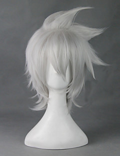 SOUL EATER NOT!SOULEATER Short White  30cm Cosplay Wigs