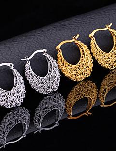 Gesneden Bloemvorm Goud Zilver Sieraden Voor Feest Verjaardag