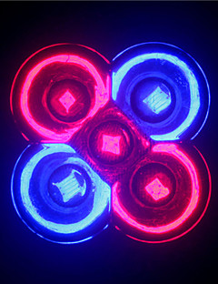 5W GU10 / E26/E27 Spot LED MR16 5 LED Haute Puissance 500 lm Rouge / Bleu AC 85-265 V 1 pièce