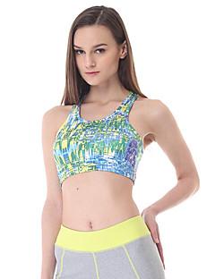 Altro Per donna Yoga Top / Reggiseni Senza maniche Traspirante / Asciugatura rapida / wicking Verde Yoga / Pilates / FitnessS / M / L /